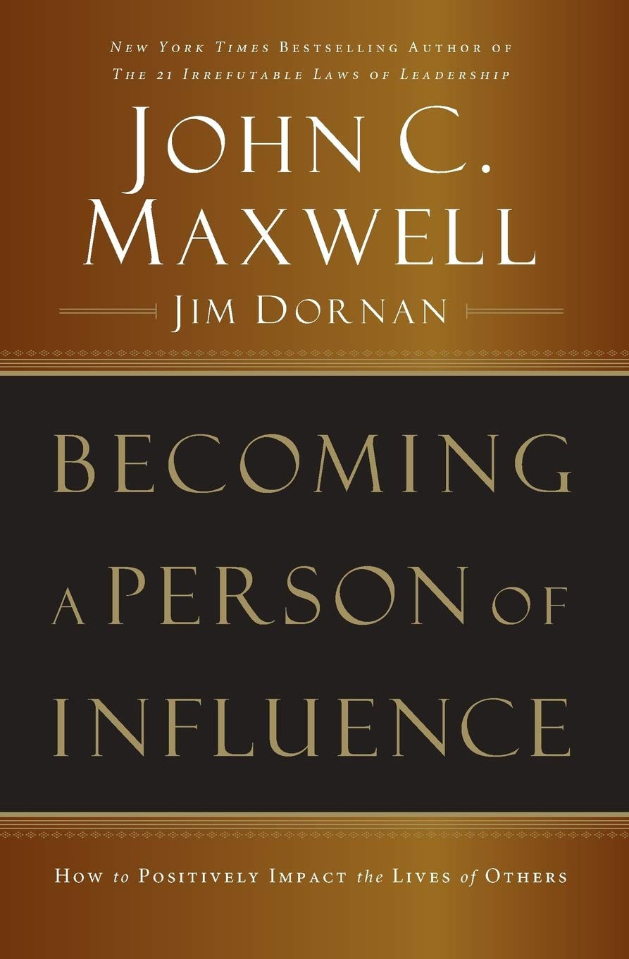 Becoming a Person of Influence 10:45AM