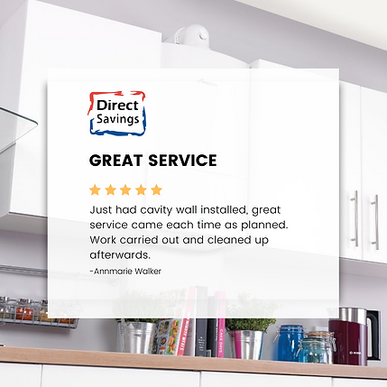 Direct Savings great customer service