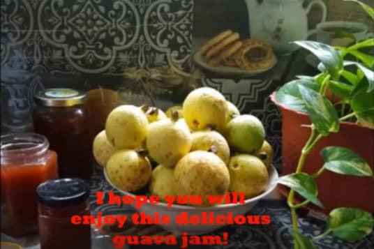 Garden Chit Chat Guava jam recipe.