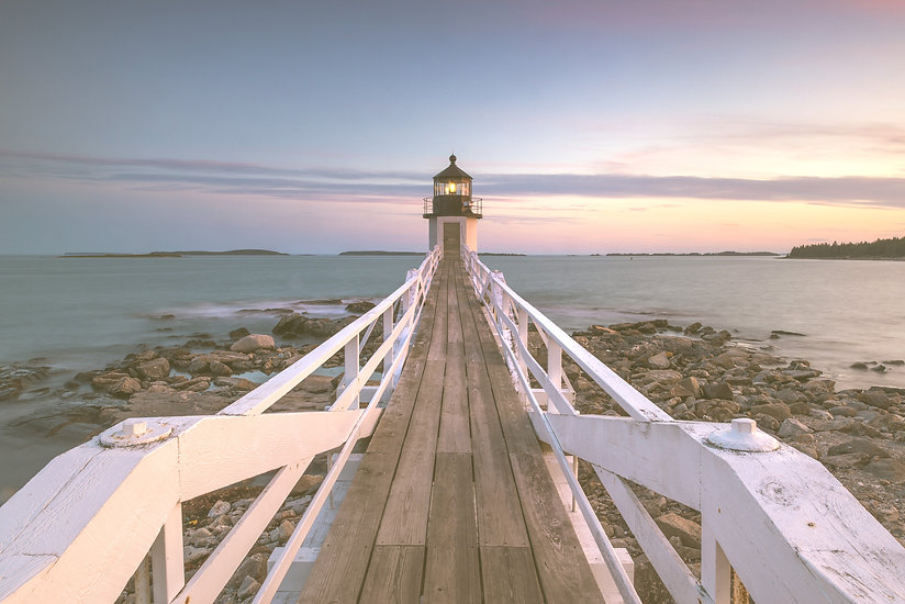 Sunset at Marshall Point Lighthouse _edi