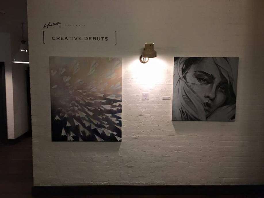On show at Hoxton Holborn with Creative Debuts