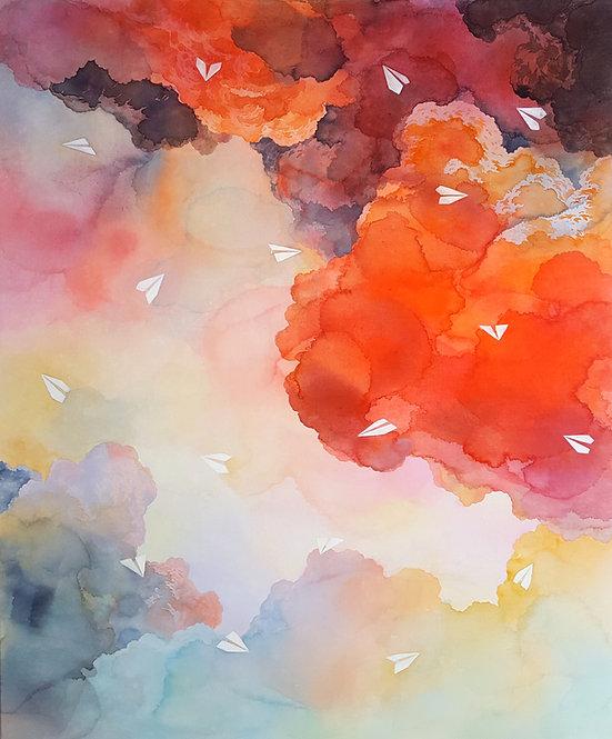 Migration | Vermilion sky