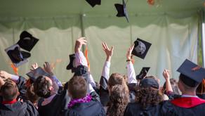 Graduation, Flights, and Turtlenecks...