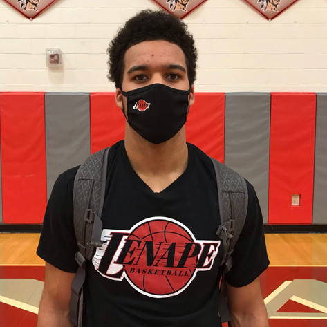 Lenape's Tayvon Gaither Overcame COVID-19, Learned to Overcome Adversity in the Process