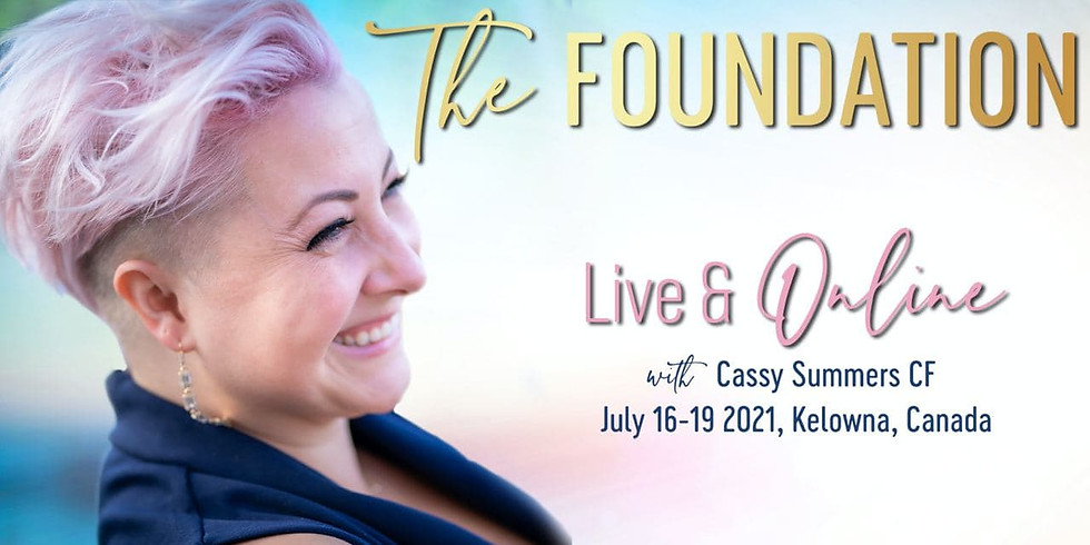 The Foundation Live & Online with Cassy Summers