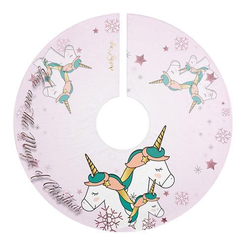 Unicorn Magic Christmas Tree Skirts