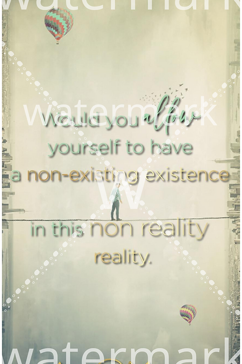 Non Existence Phone Wallpaper