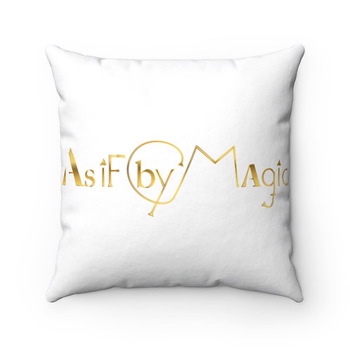 As If By Magic - Spun Polyester Square Pillow Case