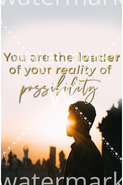 Leader of Possibility Phone Wallpaper