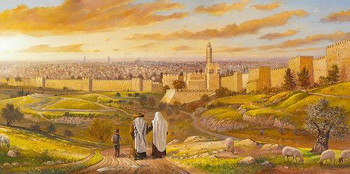 Jerusalem Full Panorama