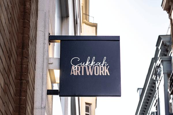 Sukkah Artwork store sign