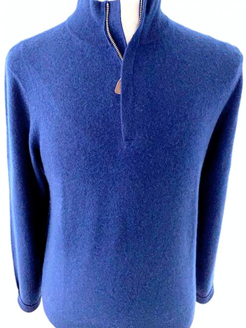Cashmere Hidden 1/4 Zip