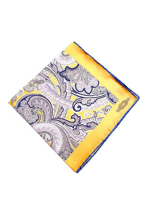 Sloane Silk  Pocket Square - Corn - PS 8924 E