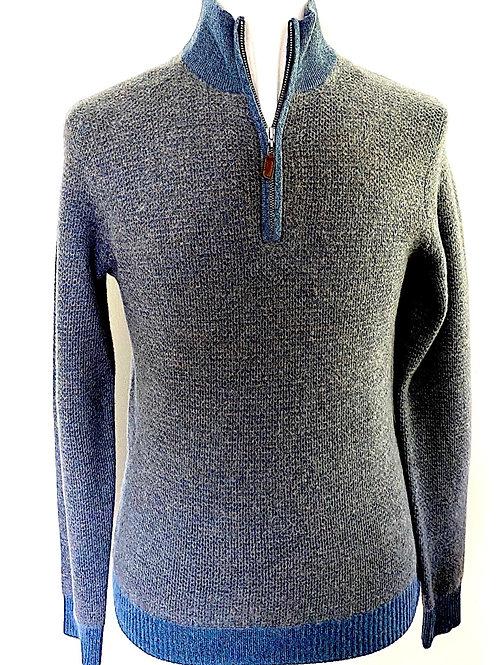 Cashmere Textured 1/4 Zip