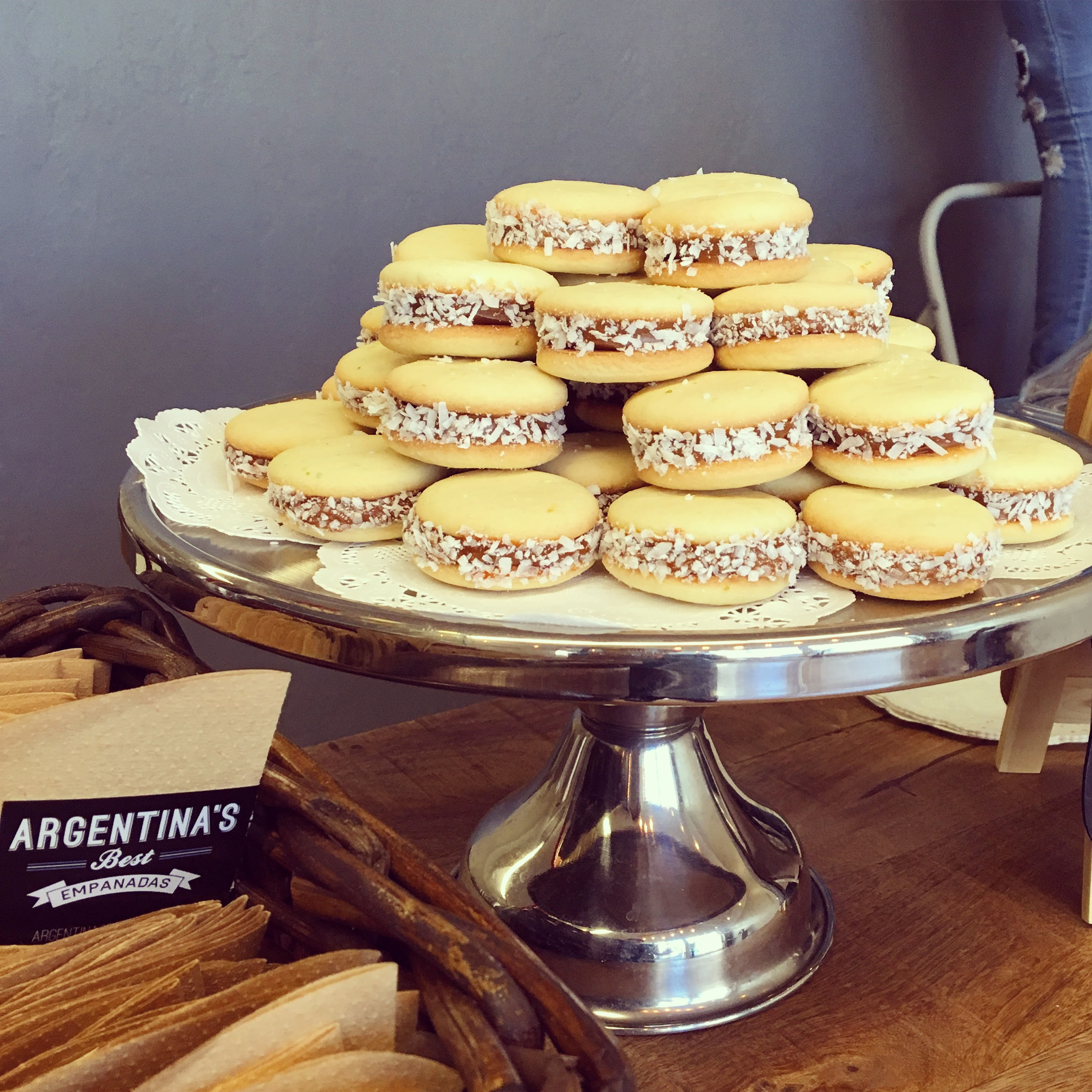 Butter Cookies (Alfajores)