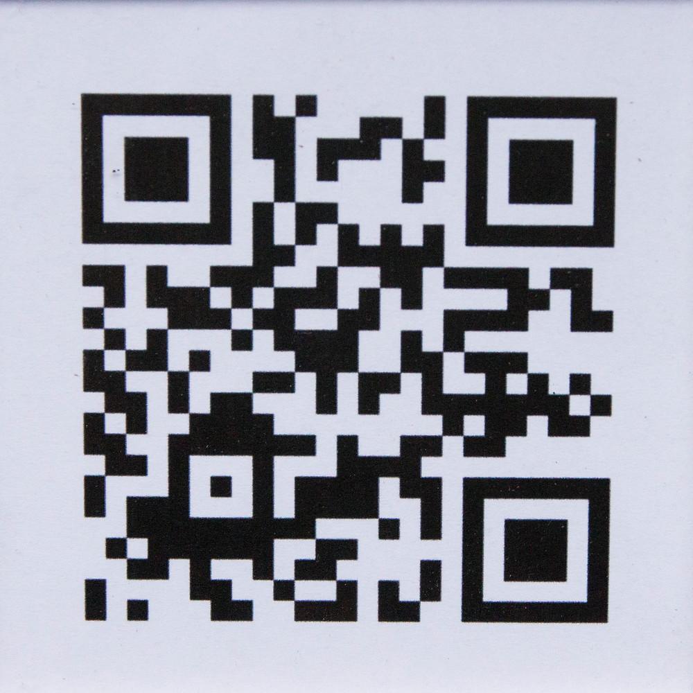Voorbeeld van QR code op plek van een dodelijk ongeval