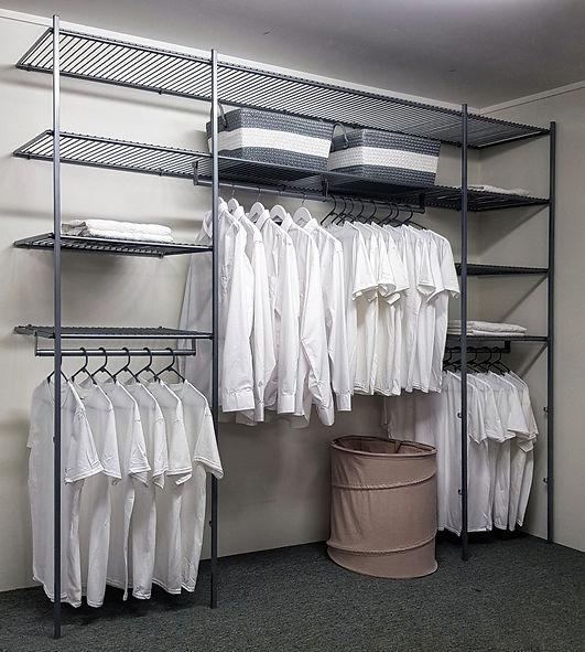 Giordeno Wire Wardrobe