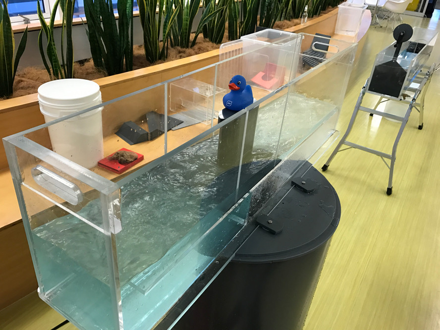Our Mini Hydraulic Flume has arrived!