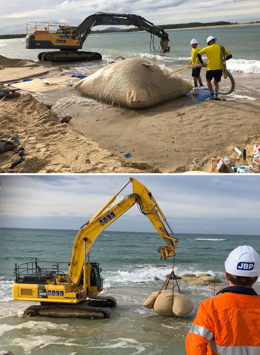 Very Large GSCs for coastal protection