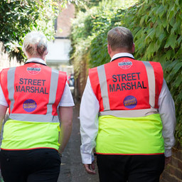Canterbury street marshals: A whole community approach to student safety