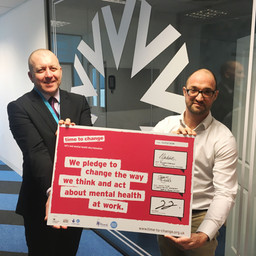 Campus Living Villages signs 'Time to Change' mental health pledge