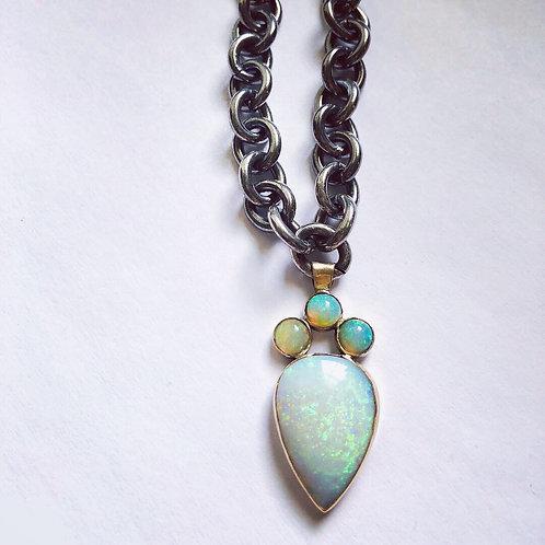 Opal Reign Pendant Necklace