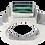Thumbnail: Rectangular Tourmaline Step Ring