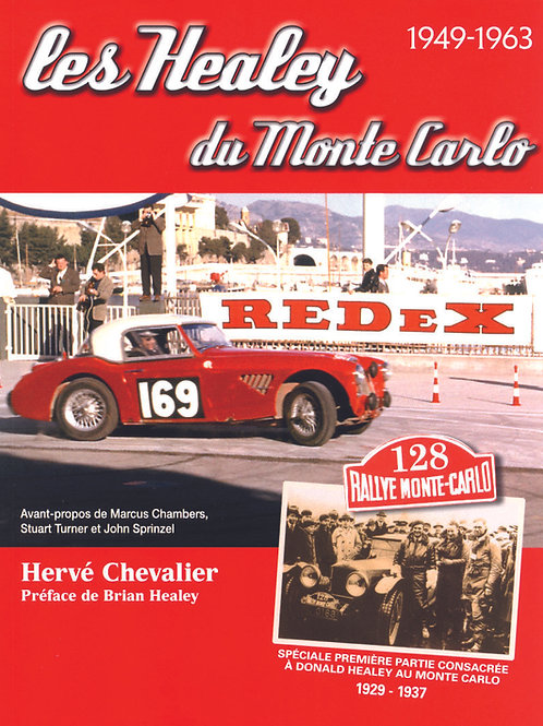 Les Healey du Monte Carlo 1949 - 1963