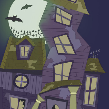 Halloween Card; Front