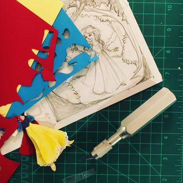 Snow White - Progress