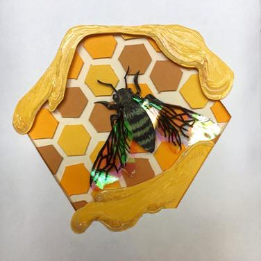 Bee Birthday Card