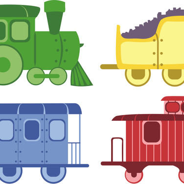 Train Illustrations