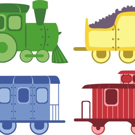 Train Illustrations
