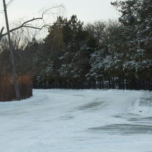 Snowy Cemetery Way