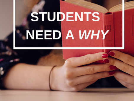 Dr. Wu's ebook - Chapter 1: The Foundation of Student Motivation - Knowing the Why