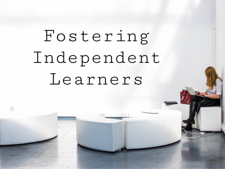 5 Steps to Fostering an Independent Learner