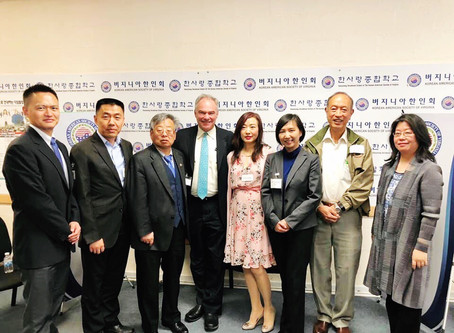 """Dr. Yuhsien Wu Selected to Join Senator Tim Kaine's """"Round-table"""" Discussion"""