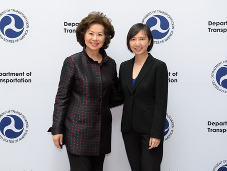 Celebrating AAPI Heritage Month: Meeting Elaine Chao, U.S. Secretary of Transportation
