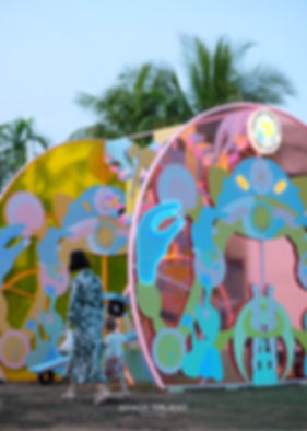 Sentosa's Island Lights curated by Space Objekt