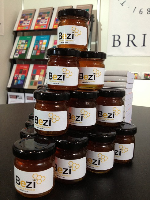 Bezi honey jars