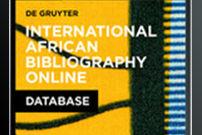 International African Bibliography Online