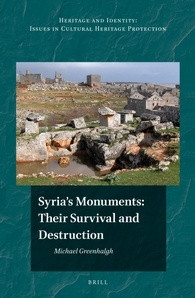 Book cover for 'Syria's Monuments'