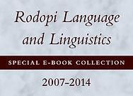 Rodopi Language and Linguistics Special E-Book Collection, 2007-2014