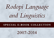 Rodopi Language and Linguistics Special E-Book Collection, 2007-2014