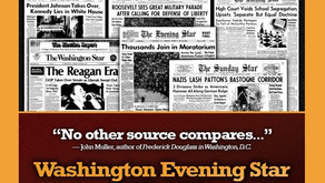 New from Readex: The Washington Evening Star, 1852–1981