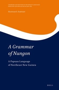 Book cover for 'A Grammar of Nungon'