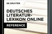 Dictionary of German Literature Online / Deutsches Literatur-Lexicon Online