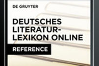 Dictionary of German Literature Online / Deutsches Literatur-Lexicon Online