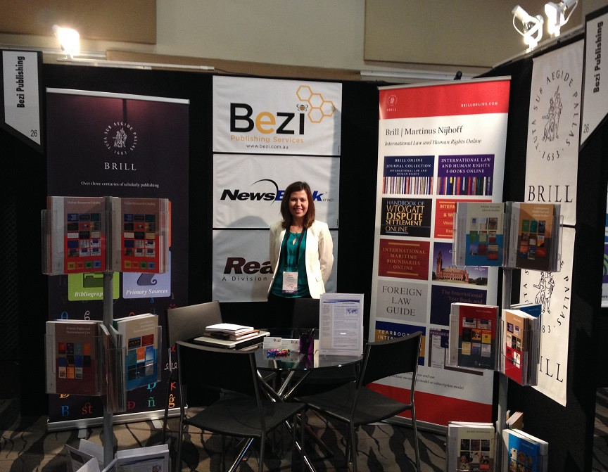The Bezi stand at LIANZA 2014