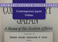 Contemporary Japan Online